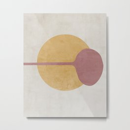 Minimalist Abstract  Metal Print
