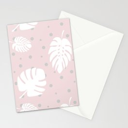 Monstera Pois Stationery Cards