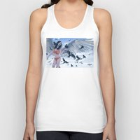 raven Tank Tops featuring Raven by Radical Ink by JP Valderrama