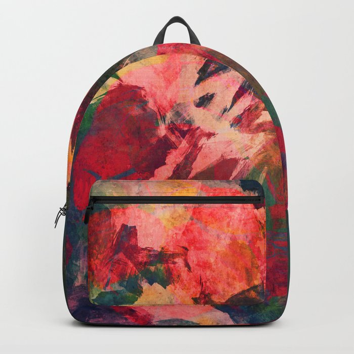 It's Complicated, Abstract Leaves Backpack