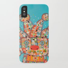 Clown with Flower iPhone Case