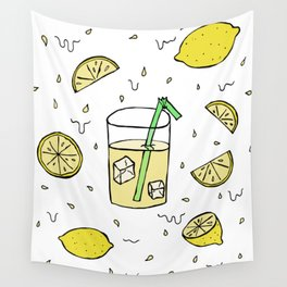 Lemonade Wall Tapestry