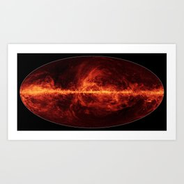 Milky Way 2 Art Print