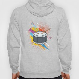 Drumline Drums Drumming Marching Band Drummer Gift Hoody