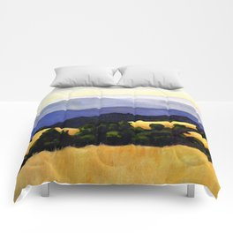 California Landscape Comforters