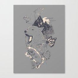 Northern Americana  Canvas Print