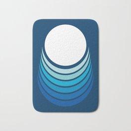 Ocean Crescent Bath Mat