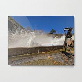 River spray Metal Print