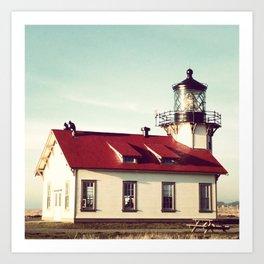 Point Cabrillo Lighthouse Art Print