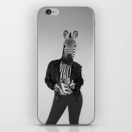 Zebra Madness iPhone Skin