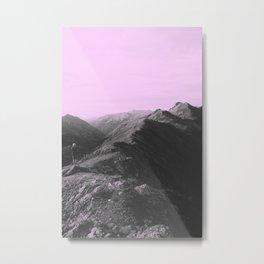 Ridges Metal Print