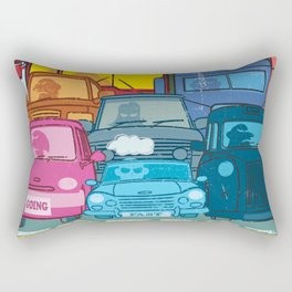 Going Nowhere Fast! Rectangular Pillow