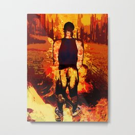 The World Is a Cruel Place Metal Print