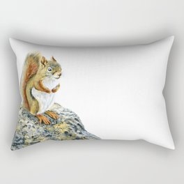 Bright-eyed and Bushy-tailed by Teresa Thompson Rectangular Pillow