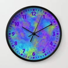 Psychedelic Mushrooms Effects Wall Clock