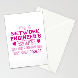 Network Engineer's Wife Stationery Cards