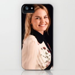 Be brave enough to be yourself. iPhone Case