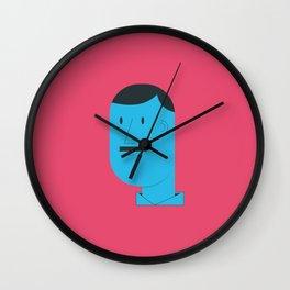 Mostachin Wall Clock