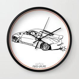 Crazy Car Art 0200 Wall Clock
