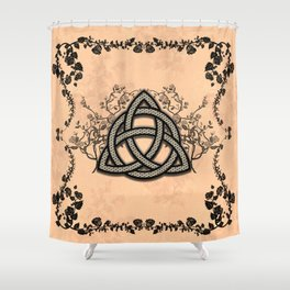 The celtic knot Shower Curtain