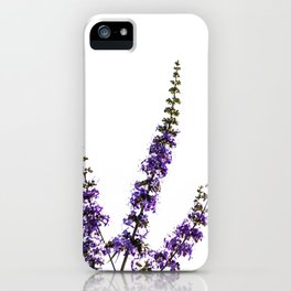Exposured Flower iPhone Case