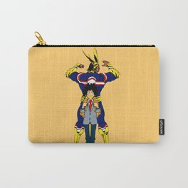 All Might and Izuku Midoriya Carry-All Pouch