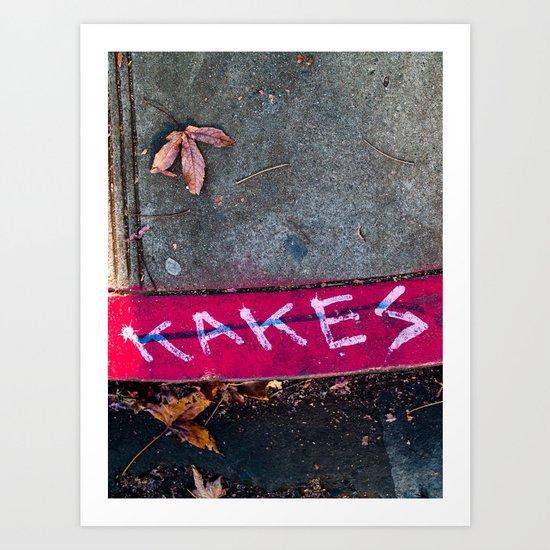 KAKES Art Print