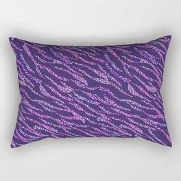 Abstract Zebra NET Rectangular Pillow