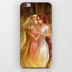 Charites/Las Gracias iPhone & iPod Skin