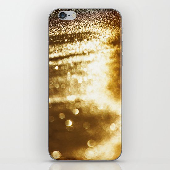 spun gold iPhone & iPod Skin