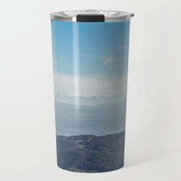 View at the Alps Travel Mug