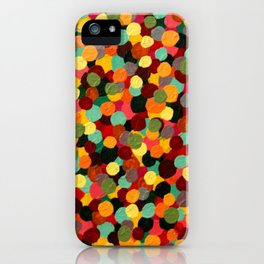 Dots on Dots on Dots iPhone Case