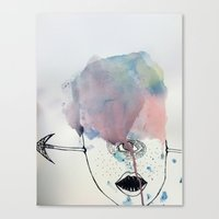 cyclops Canvas Prints featuring Cyclops by GretchenAnn