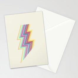 80's lightning Stationery Cards