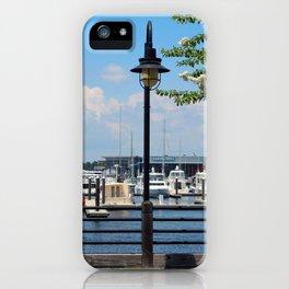 Riverfront Scene iPhone Case