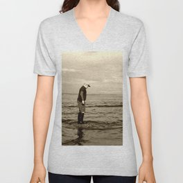 A Boy and The Sea Unisex V-Neck