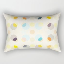 Abaia - Colorful Dots - Dotted Pattern Rectangular Pillow