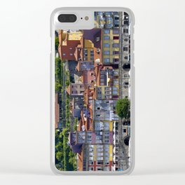 Porto houses, Portugal Clear iPhone Case