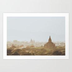 Bagan III Art Print