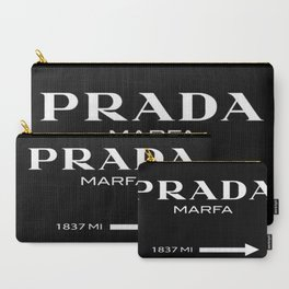 Black Marfa Carry-All Pouch