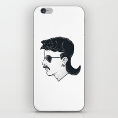 The Mullet iPhone Skin