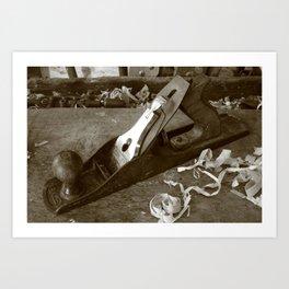 Carpentry tools Art Print