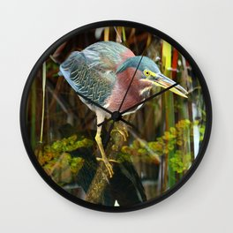 Me And My Reflection Wall Clock