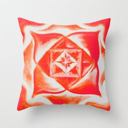Four directions - Balancing Square  Throw Pillow