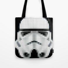 Stormtrooper : 8 Bit Pixel Tote Bag