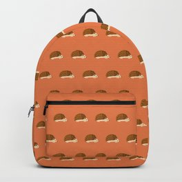 Hedgehogs on red Backpack
