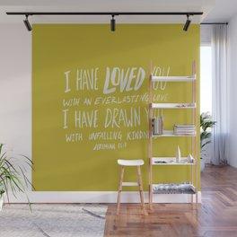 Everlasting Love x Mustard Wall Mural