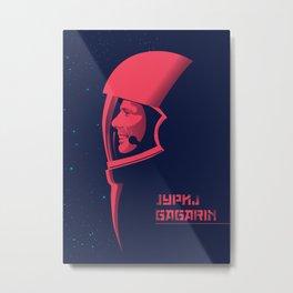 Jurij Gagarin Metal Print