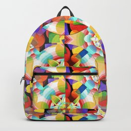 Prismatic Abstract Backpack