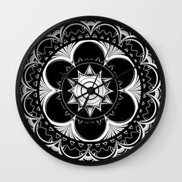 Psychedelic Mandala Wall Clock